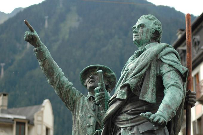 Chamonix - Statue