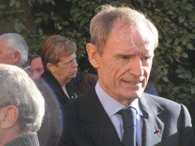 Jean-Claude Killy, présent lors de l'hommage - © Alain Coppier - 123 Savoie