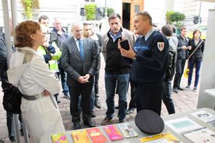 La Journée de la sécurité routière, démo - 5 - © Sergio Palumbo - 123 Savoie