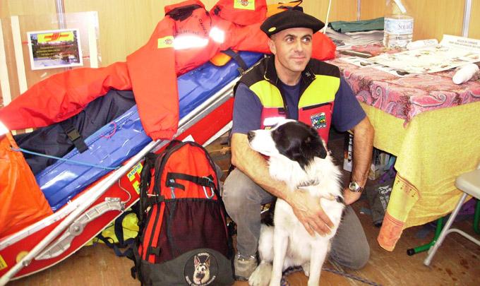 Maître chiens d'avalanche - © Gilles Garofolin (Ville de Chambéry)