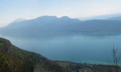 Panorama du Lac du Bourget - Col du Sapenay