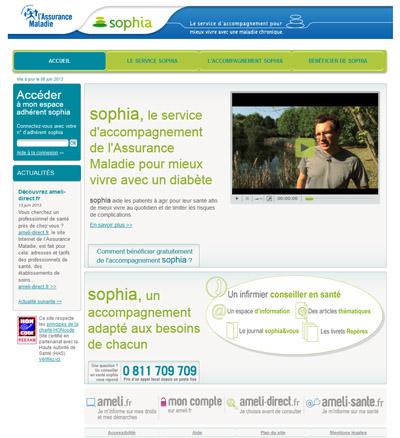 Site web Sophia
