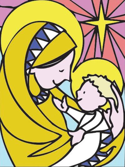 Vièrge et l'Enfant