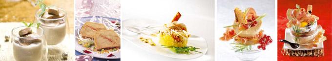 5 recettes Foie gras des Compagnons du Goût