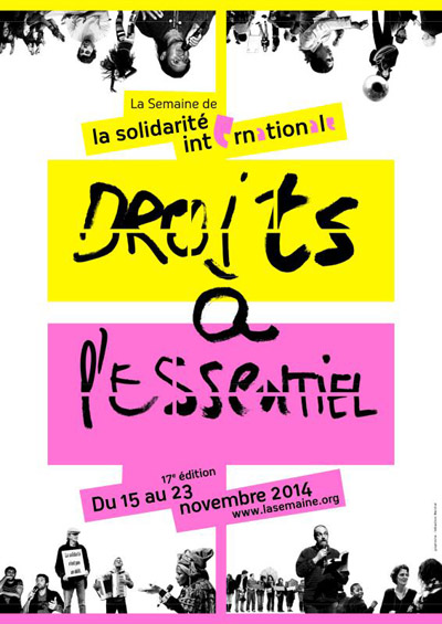 Affiche Semaine de la solidarité internationale