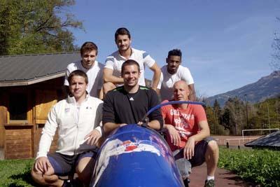 Collectif équipe de France avec Bruno Mingeon