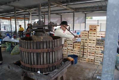 Fabrication du cidre par le groupe La Savoie - © Sergio Palumbo - 123 Savoie