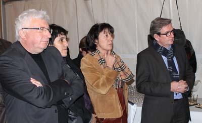 Guy Chaumereuil, Monique Marchal et Xavier Dullin