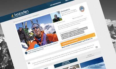 Site Kazaden, profil guide