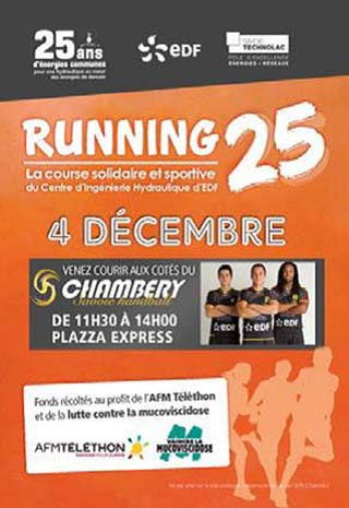 Affiche Le Running 25