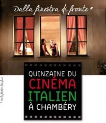Affiche Quinzaine Cinéma Italien 2014 Chambéry