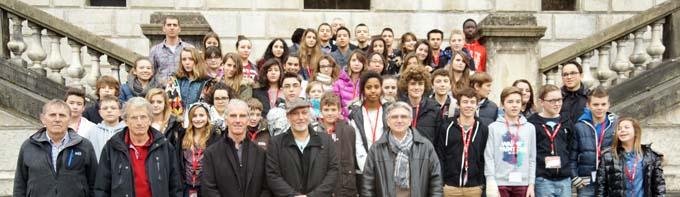 Conseil Général Jeunes Savoie promotion 2014 - 2015