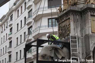 Dépose des Eléphants 1 - © Sergio Palumbo - 123 Savoie