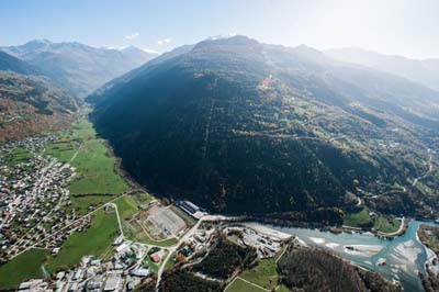 EDF Malgovert, vue aérienne - © EDF - Pascal Tournaire