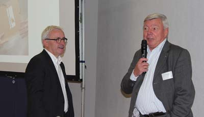Gilles Mollard, Président et Ulrich Schmidt, Président d'honneur