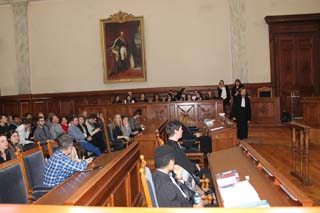 Concours de Plaidoiries Antoine Favre au Tribunal 3 - © Sergio Palumbo - 123 Savoie