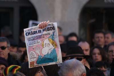 Je suis Charlie - Chambéry 2 - © Sergio Palumbo - 123 Savoie