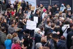 Marche silencieuse 11 janvier 2015 - 5 - © Sergio Palumbo - 123 Savoie