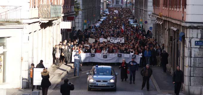 Marche silencieuse 11 janvier 2015 - 6 - © Sergio Palumbo - 123 Savoie