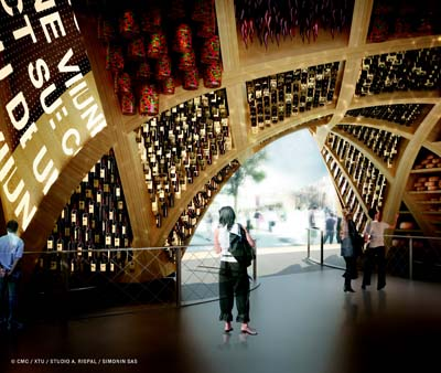 Pavillon France de l'Exposition Universelle  Milan 2015 - Photos © Adeline Rispal