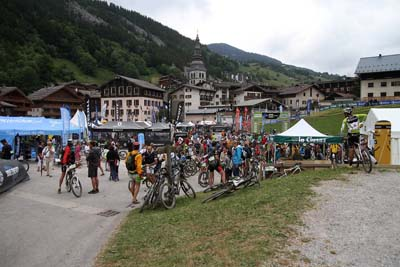 Roc des Alpes 2014 - la Clusaz - Village et animations - © ASO - C. Diais