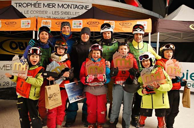 Trophée Mer Montagne 2015 - Podium - © Pascale Alemany