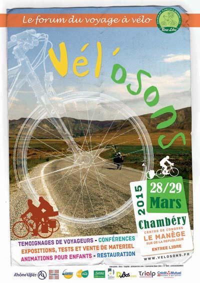 Affiche Vél'osons 2015