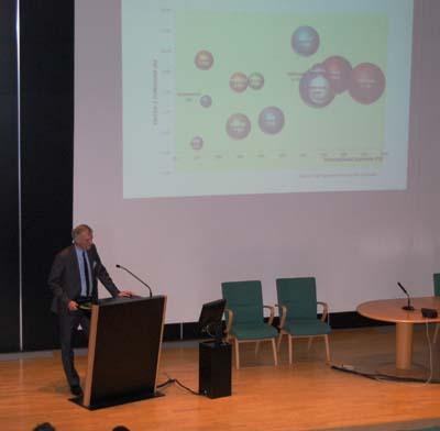 Arnaud de Bantel, Ingénieur Affaires en charge des filières Lait et Viandes, Pôle Agroalimentaire Crédit Agricole SA