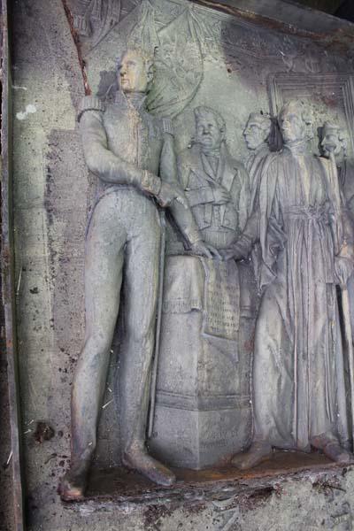 Bas-relief à la Fonderie Vincent - © Sergio Palumbo - 123 Savoie