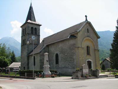 Eglise de Ecole-en-Bauges - © Sergio Palumbo - 123 Savoie