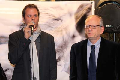Clément Dumon et Luc Berthoud