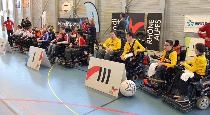 Partenariat ERDF Handisport , les équipes - © Sergio Palumbo - 123 Savoie