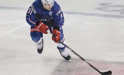 Joueur de l'équipe de France de hockey - 1