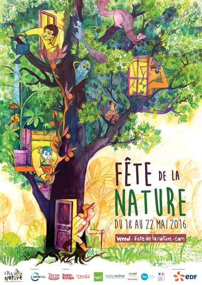 Affiche Fête de la Nature 2016