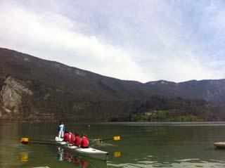 Agent EDF au lac d'Aiguebelette 1 - © EDF