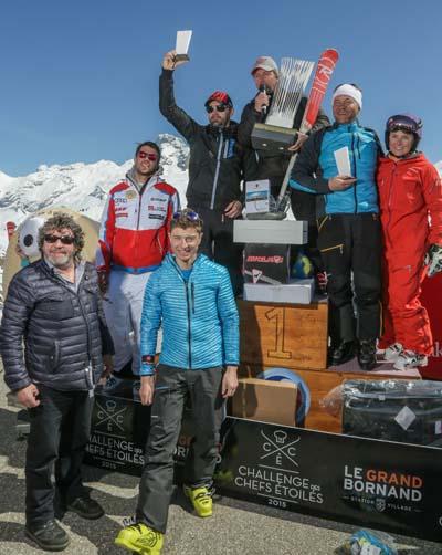Challenge Chefs - Le Grand-Bornand - podium