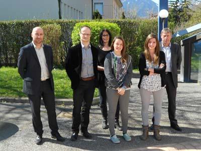 Remise bourses EDF au Lycée Paul Héroult - © EDF