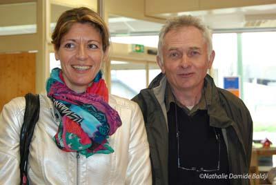 Carine Montet (coordinatrice Terre d'Envies) et Etienne Vernoux (président association Terre d'Envies)