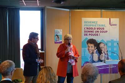 Xavier Dullin et Brigitte Bochaton - © Chambéry métropole