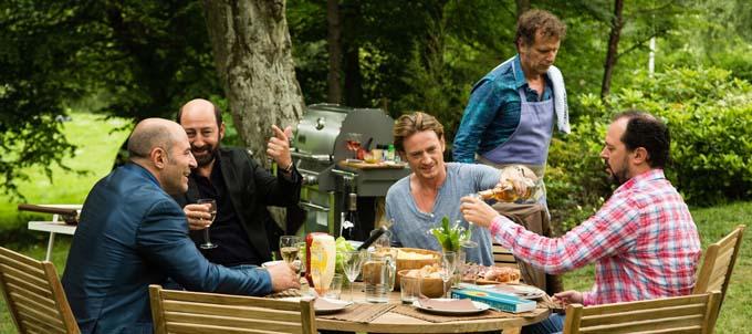 Benoît Magimel, Charles Berling, Jean-François Cayrey, Kad Merad et Vincent Moscato - © Gaumont Distribution