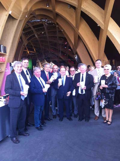 Inauguration Région Rhône-Alpes Milan 2015 - 1
