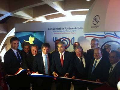 Inauguration Région Rhône-Alpes Milan 2015