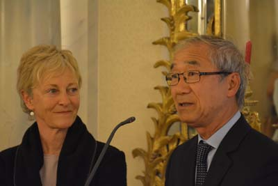 Rozenn Hars et Paul Truong
