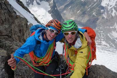 Yoann Joly et Yann Borgnet - © Alpine Line Project