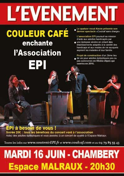 Affiche EPI - Couleur Café en concert