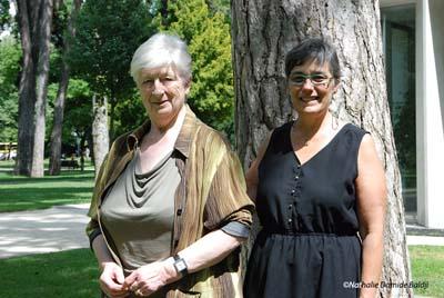 Annie Tasset et Mady Berland