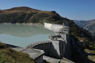 Barrage de la Girotte  - © EDF - Pascal Tournaire