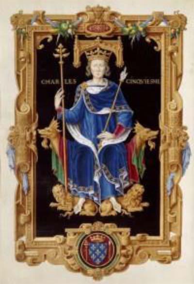 Charles V, premier roi numéroté de son vivant