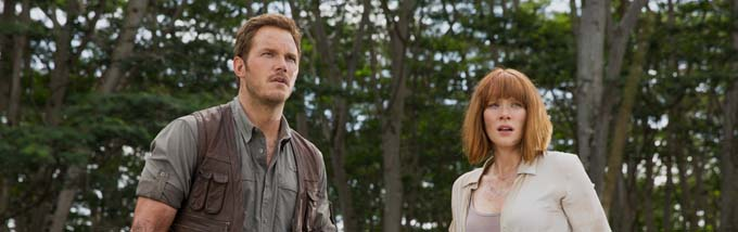 Chris Pratt et Bryce Dallas Howard - © Universal Pictures