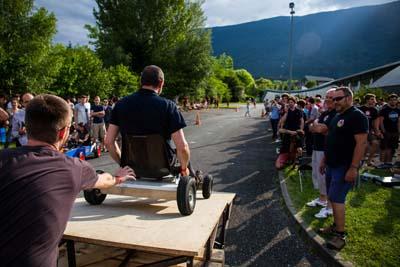 Les qualifications de l'IUT de Chambéry à la 3ème place du défi Dévale-pente écologique